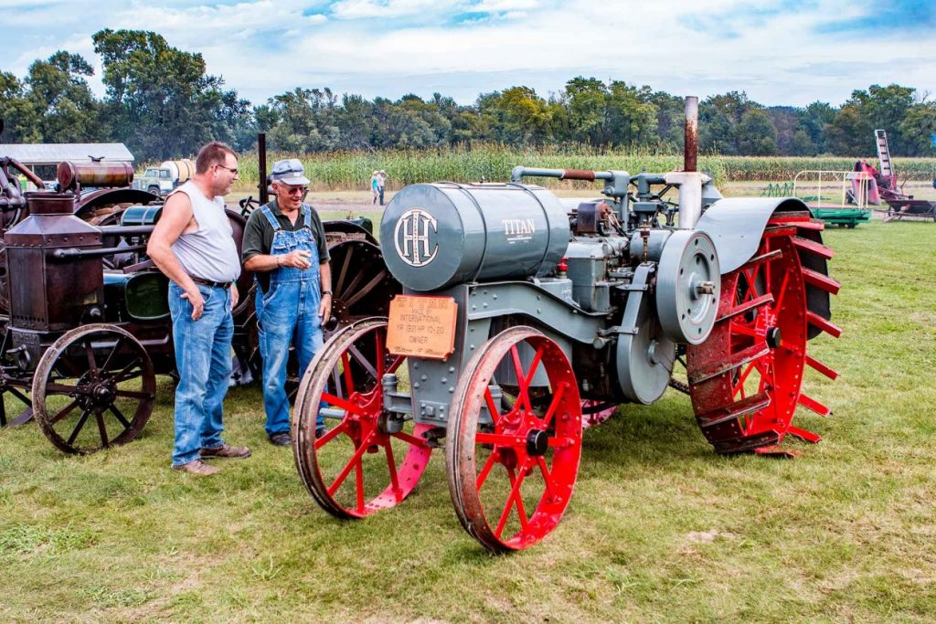 Antique Gas Tractor