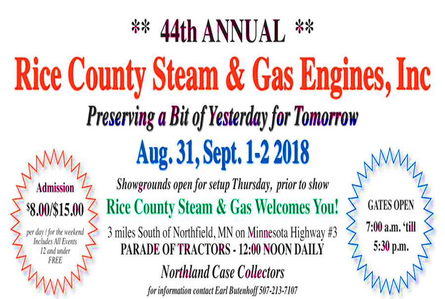 Rice County Steam & Gas
